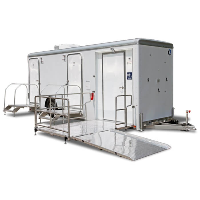 Portable Restroom Trailer, ADA Compliant